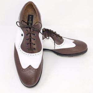 FootJoy Icon Black Men's Golf Shoes Sz 10.5 #52011